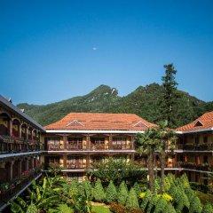 Отель Victoria Sapa Resort & Spa Шапа приотельная территория фото 2