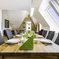 Апартаменты Abieshomes Serviced Apartments - Messe Prater балкон