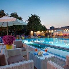 Отель Terme Cristoforo Италия, Абано-Терме - отзывы, цены и фото номеров - забронировать отель Terme Cristoforo онлайн бассейн фото 3