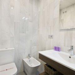 Habitat Suites Gran Vía 17 Hotel ванная