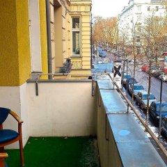 Отель Castell Германия, Берлин - 12 отзывов об отеле, цены и фото номеров - забронировать отель Castell онлайн балкон