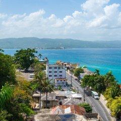 Отель Sky View Beach Studio - Montego Bay Club Ямайка, Монтего-Бей - отзывы, цены и фото номеров - забронировать отель Sky View Beach Studio - Montego Bay Club онлайн пляж