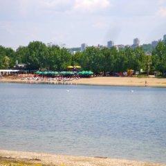 Отель Balkan Garni пляж