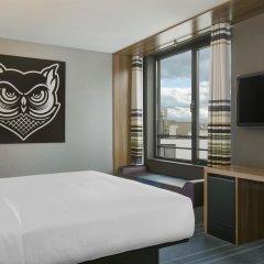 Отель Aloft Brussels Schuman Бельгия, Брюссель - 2 отзыва об отеле, цены и фото номеров - забронировать отель Aloft Brussels Schuman онлайн комната для гостей фото 2