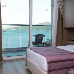 Sol Beach Hotel Турция, Мармарис - отзывы, цены и фото номеров - забронировать отель Sol Beach Hotel - All Inclusive - Adults Only онлайн балкон