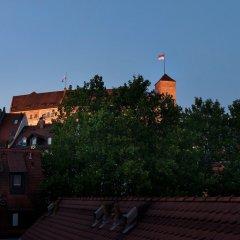 Hotel Agneshof Nürnberg балкон
