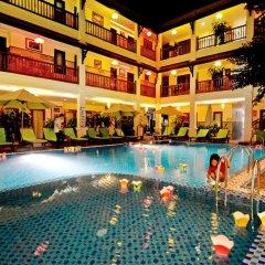 Отель Green Heaven Hoi An Resort & Spa Хойан бассейн фото 2