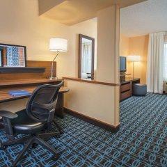 Отель Fairfield Inn & Suites by Marriott Frederick комната для гостей фото 2