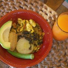 Отель Kudehya Guesthouse Ямайка, Треже-Бич - отзывы, цены и фото номеров - забронировать отель Kudehya Guesthouse онлайн питание