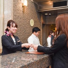 Kobe Sannomiya Union Hotel Кобе интерьер отеля фото 2