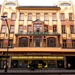Отель Apartmány Národní Чехия, Прага - отзывы, цены и фото номеров - забронировать отель Apartmány Národní онлайн вид на фасад
