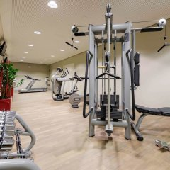 Отель Novotel Muenchen Airport Фрайзинг фитнесс-зал