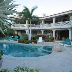 Отель Casa De Las Flores Сан-Хосе-дель-Кабо бассейн