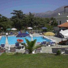 Отель Villa Malia бассейн