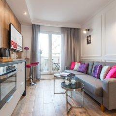 Отель P&O Apartments Emilii Plater 3 Польша, Варшава - отзывы, цены и фото номеров - забронировать отель P&O Apartments Emilii Plater 3 онлайн комната для гостей фото 4