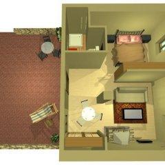 Avalon Boutique Suites Hotel сейф в номере