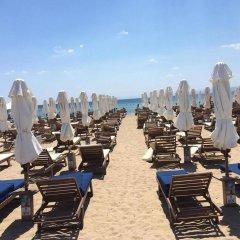 Отель Galini Palace пляж
