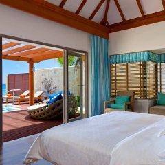 Отель Sheraton Maldives Full Moon Resort & Spa Мальдивы, Остров Фуранафуши - отзывы, цены и фото номеров - забронировать отель Sheraton Maldives Full Moon Resort & Spa онлайн комната для гостей фото 3