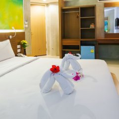 B2 Sea View Pattaya Boutique & Budget Hotel комната для гостей фото 6
