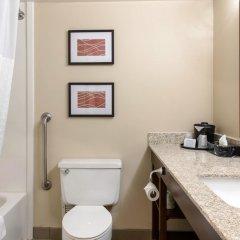 Отель Comfort Inn MSP Airport - Mall of America США, Блумингтон - отзывы, цены и фото номеров - забронировать отель Comfort Inn MSP Airport - Mall of America онлайн ванная