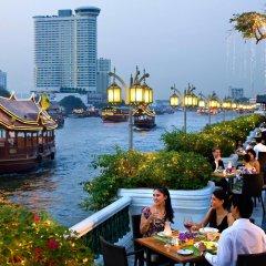 Отель Mandarin Oriental Bangkok Бангкок приотельная территория
