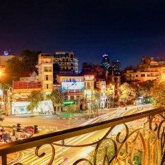 Hanoi Wild Lotus Hotel 3 балкон