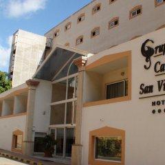Отель Grupotel Cala San Vicente Испания, Сен-Жуан-де-Лабриджа - отзывы, цены и фото номеров - забронировать отель Grupotel Cala San Vicente онлайн вид на фасад