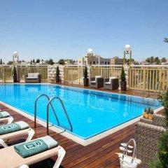 Отель Dan Panorama Jerusalem Иерусалим бассейн