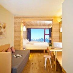 Glacier Hotel Grawand Сеналес комната для гостей фото 3