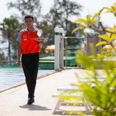 Отель Baumancasa Beach Resort спортивное сооружение