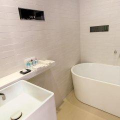 Отель The Designers Cheongnyangni Южная Корея, Сеул - 1 отзыв об отеле, цены и фото номеров - забронировать отель The Designers Cheongnyangni онлайн ванная фото 2