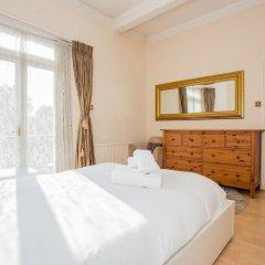 Апартаменты Lovely 2 Bedroom Apartment Near Hyde Park Лондон комната для гостей фото 3
