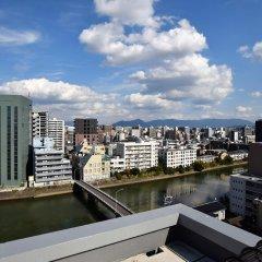 Randor Residential Hotel Fukuoka Фукуока приотельная территория фото 2