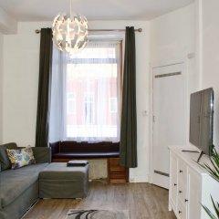 Отель Bright And Modern 1 Bedroom Flat Великобритания, Эдинбург - отзывы, цены и фото номеров - забронировать отель Bright And Modern 1 Bedroom Flat онлайн комната для гостей фото 4