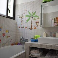 Апартаменты Spacious 2 Bedroom Loft Style Apartment ванная