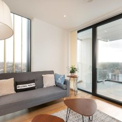 Отель Modern 2 bed for 4 Guests - 15 Mins to LDN Bridge! комната для гостей фото 2