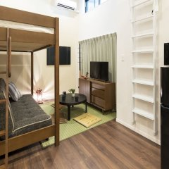 Отель TATERU bnb SUMIYOSHI A комната для гостей