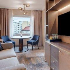 Отель Hilton Munich City Германия, Мюнхен - 9 отзывов об отеле, цены и фото номеров - забронировать отель Hilton Munich City онлайн комната для гостей фото 7
