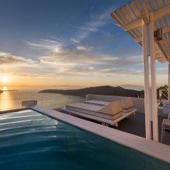 Отель Andromeda Villas Греция, Остров Санторини - 1 отзыв об отеле, цены и фото номеров - забронировать отель Andromeda Villas онлайн бассейн