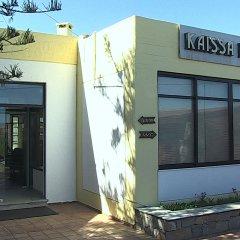 Отель Kaissa Beach Греция, Гувес - 1 отзыв об отеле, цены и фото номеров - забронировать отель Kaissa Beach онлайн вид на фасад