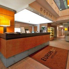 Europa City Vilnius Hotel интерьер отеля