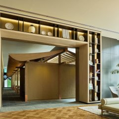 Mitsui Garden Hotel Fukuoka Gion Хаката интерьер отеля