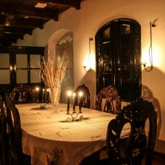 Отель Villa Rosa Blanca - White Rose Галле питание
