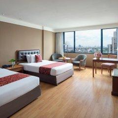 Отель Twin Towers Hotel Таиланд, Бангкок - 1 отзыв об отеле, цены и фото номеров - забронировать отель Twin Towers Hotel онлайн комната для гостей фото 2