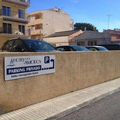 Отель Amoros парковка