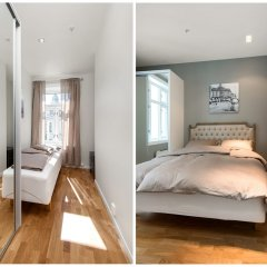 Апартаменты Frogner House Apartments - Riddervoldsgate 10 комната для гостей