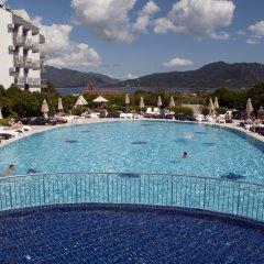 Luna Beach Deluxe Hotel Турция, Мармарис - отзывы, цены и фото номеров - забронировать отель Luna Beach Deluxe Hotel онлайн бассейн фото 2