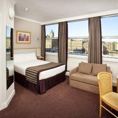Отель Jurys Inn Edinburgh Великобритания, Эдинбург - 2 отзыва об отеле, цены и фото номеров - забронировать отель Jurys Inn Edinburgh онлайн комната для гостей фото 5