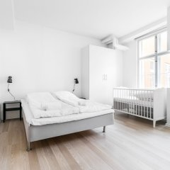Отель 120m2 Apartment in Nyhavn Дания, Копенгаген - отзывы, цены и фото номеров - забронировать отель 120m2 Apartment in Nyhavn онлайн комната для гостей фото 2