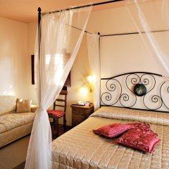 Отель Casolare Le Terre Rosse Италия, Сан-Джиминьяно - 1 отзыв об отеле, цены и фото номеров - забронировать отель Casolare Le Terre Rosse онлайн комната для гостей фото 3